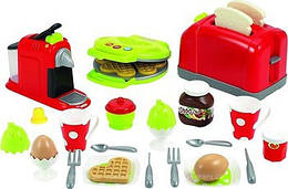"""Набор """"Кухонная техника с посудой и продуктами"""" 33 акс, Ecoiffier 12м+ (2647)"""
