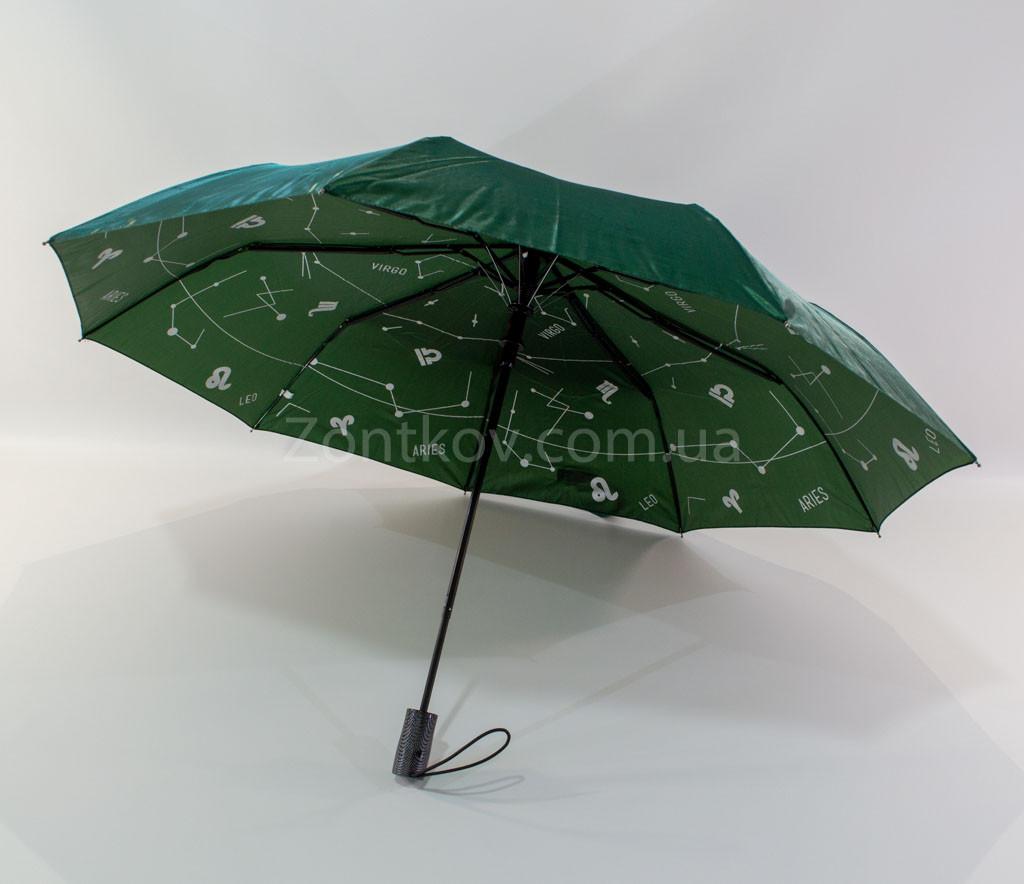 """Складной зонтик хамелеон с узором изнутри от фирмы """"Mario"""""""