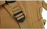 Тактический, походный рюкзак Military. 30 L. Койот, милитари.  / T420, фото 9