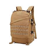 Тактический, походный рюкзак Military. 30 L. Койот, милитари.  / T420, фото 10