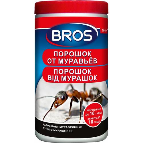 Bros/Брос порошок от муравьев, 100 г — инсектицидное средство
