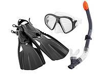 Набор для плавания 3в1 Intex 55657 (трубка, маска, ласты) от 14 лет