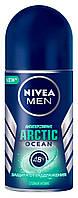 """Кульковий антиперспірант """"Захист від роздратування"""" Nivea Men Arctic Ocean 50 мл"""