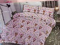 """Бязь Детское постельное белье """"Лол бабочки на розовом"""" Полуторный Lol"""