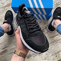 Мужские кроссовки Adidas iniki  Black/White
