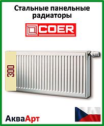 Радиатор стальной Coer 22k 300*600 боковое подключение