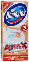 Стикер для очищения унитаза Domestos Аттах Тропическая свежесть 3шт