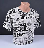 Мужская футболка БОЛЬШИХ РАЗМЕРОВ 4501