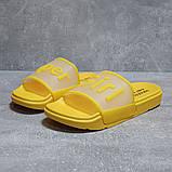 Шлепанцы женские 17467, Super Girl, желтые, [ 36 41 ] р. 36-22,7см., фото 2