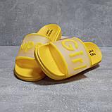 Шлепанцы женские 17467, Super Girl, желтые, [ 36 41 ] р. 36-22,7см., фото 3