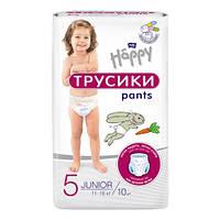 "Підгузки-трусики BELLA Happy Junior Pants"" 5 (11-18 кг), 10 шт., фото 1"