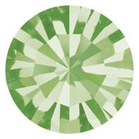 Пришивные стразы в цапах Preciosa (Чехия) ss47 Peridot/платина