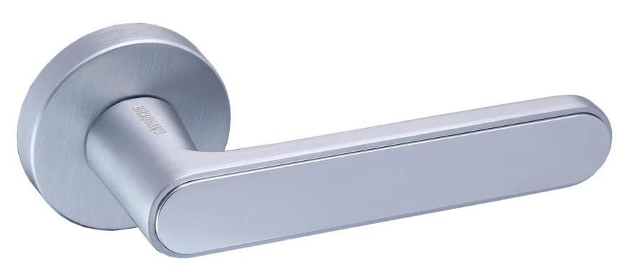Ручки дверные Gavroche BARIUM MSCB/CP (Итальянский сатин/хром)