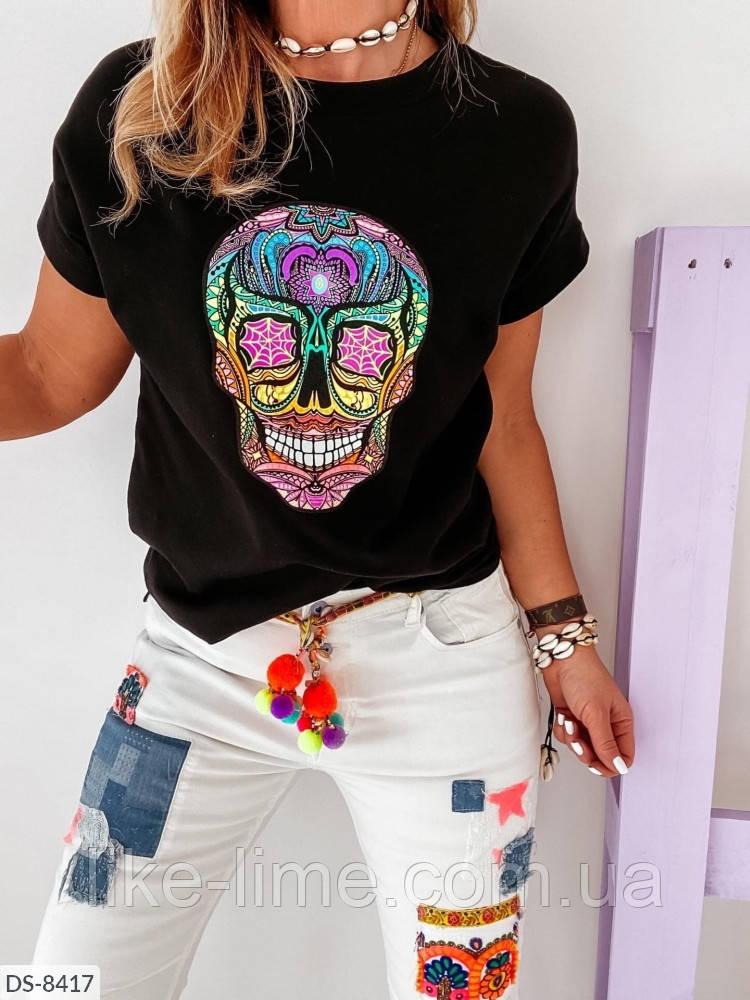 Женская футболка норма и ботал
