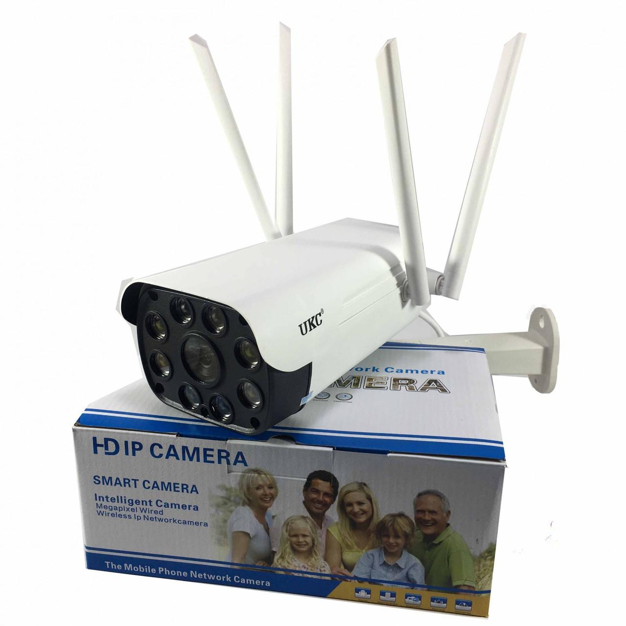 Беспроводная уличная Wi-Fi IP Камера DK200 2mp Водонепроницаемая