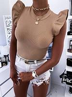 Женская стильная футболочка, фото 1