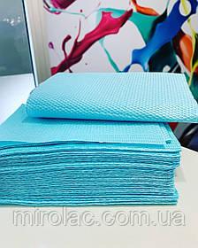 Маникюрные салфетки на стол, удерживают влагу . Упаковка 25шт