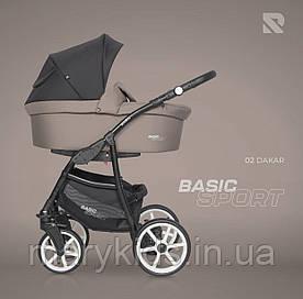 Детская универсальная коляска 2 в 1 Riko Basic Sport 02 Dakar