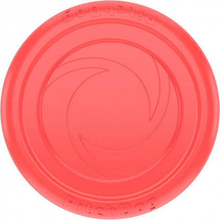 Игровая тарелка PitchDog для апортировки, розовая, диаметр - 24 см, фото 2