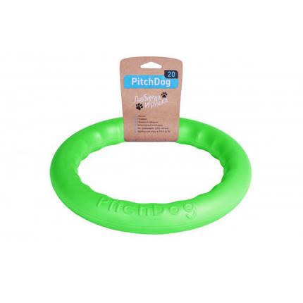 Кольцо для апортировки PitchDog, салатовое, диаметр - 20 см, фото 2