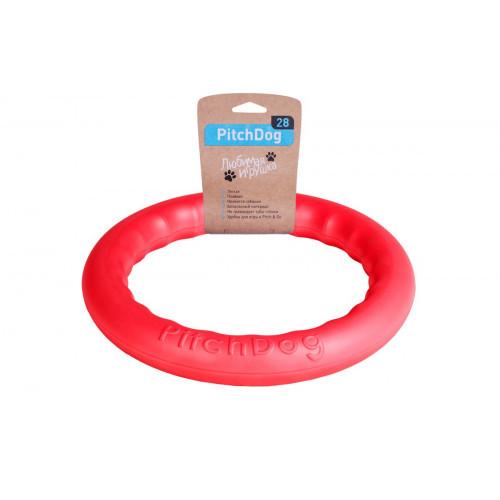 Кольцо для апортировки PitchDog, розовое, диаметр - 28 см