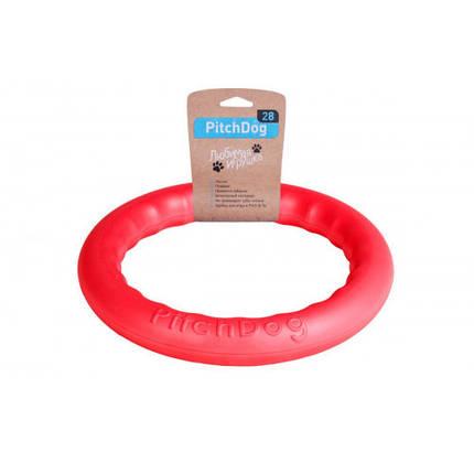 Кольцо для апортировки PitchDog, розовое, диаметр - 28 см, фото 2