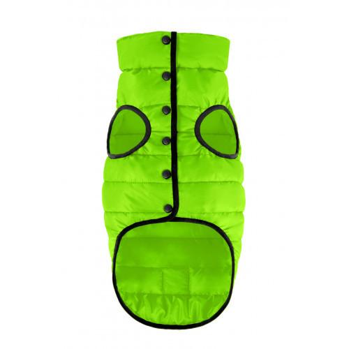 Куртка AiryVest One для собак, розмір S 30, салатовий