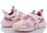 Кросівки для дівчинки CBT.T 32-37. Рожеві