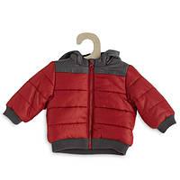 Яркая зимняя детская куртка на мальчика на холлофайбере