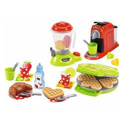 """Набор """"Кухонная техника с посудой и продуктами"""" 28 акс, Ecoiffier 12м+ (2624)"""