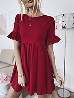 Платье женское с рюшиками в расцветках 60321, фото 1