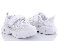 Кросівки для дівчинки CBT.T 22-27. Білі