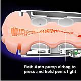 Интеллектуальный мастурбатор Leten EVA с вибрацией, автоматическим сжатием и голосом, фото 4