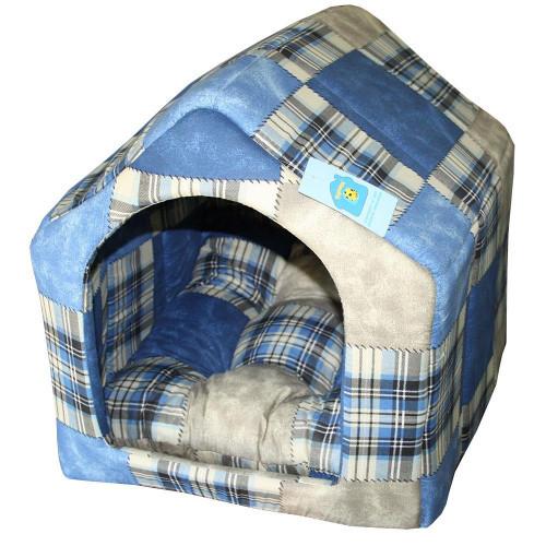 Будка №1 для собак и кошек, 30 х 35 х 35 см