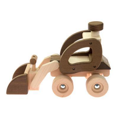 Машина Goki деревянная Экскаватор (натуральный) (55910)