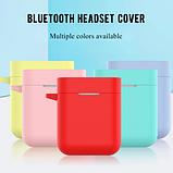 Чохол для навушників Xiaomi Mi True Air Lite і Xiaomi Airdots Pro Колір Чорний TWS Bluetooth Silicone Case, фото 4