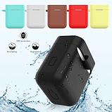 Чехол для наушников Xiaomi Mi True Air Lite и Xiaomi Airdots Pro Цвет Чёрный TWS Bluetooth Silicone Case, фото 5
