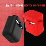 Чехол для наушников Xiaomi Mi True Air Lite и Xiaomi Airdots Pro Цвет Чёрный TWS Bluetooth Silicone Case, фото 6