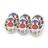 Набор Tenga Keith Haring EGG Dance (6 яиц)
