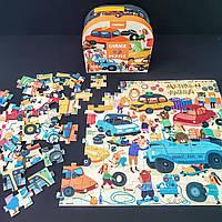 Пазл в чемоданчике «Гараж» MiDeer Toys (104 элемента)