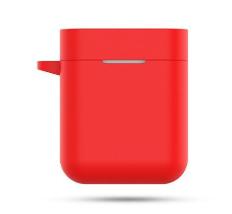 Чехол для наушников Xiaomi Mi True Air Lite и Xiaomi Airdots Pro Цвет Красный TWS Bluetooth Silicone Case