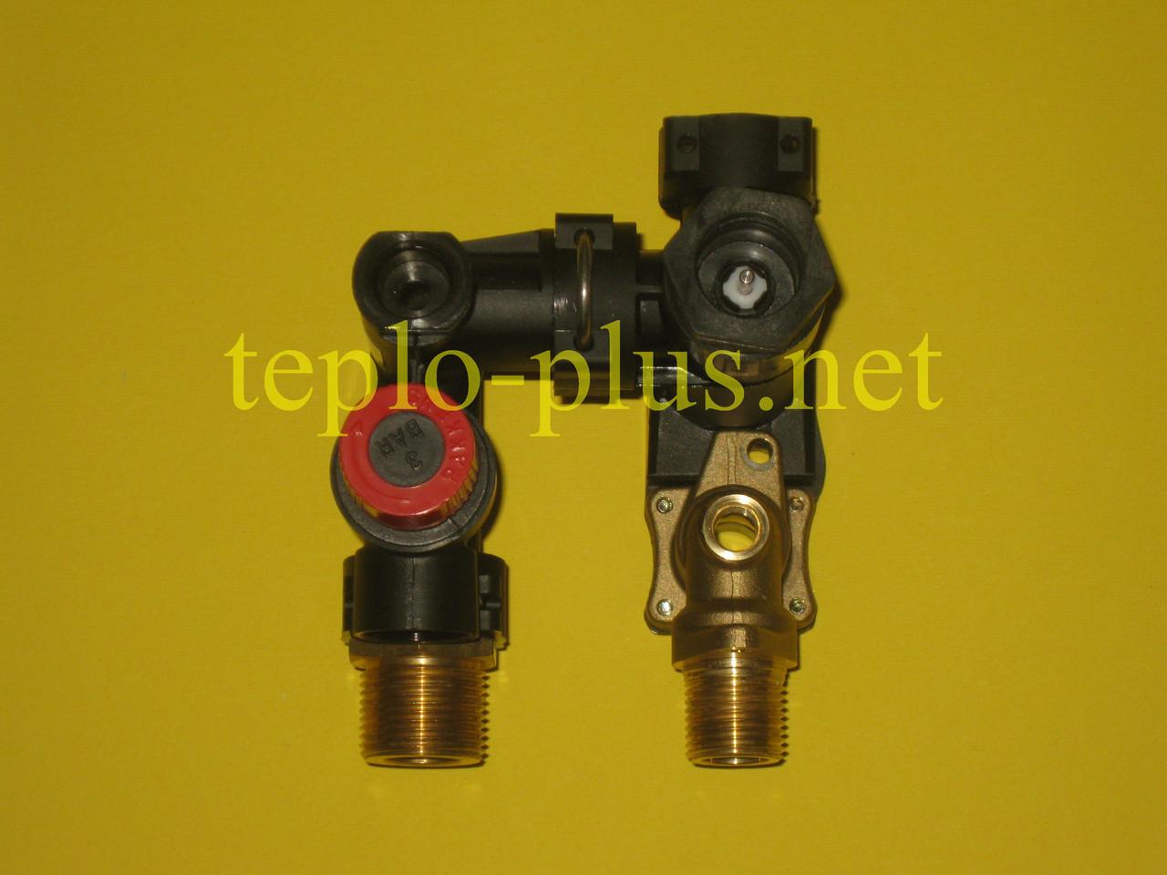 Гідроблок (трьохходовий клапан) D003202242 Demrad Atron H24, H28, Adonis B24, Nitromix P24, P28, P35