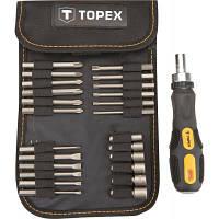 Набор бит Topex 26 шт с держателем (39D352)