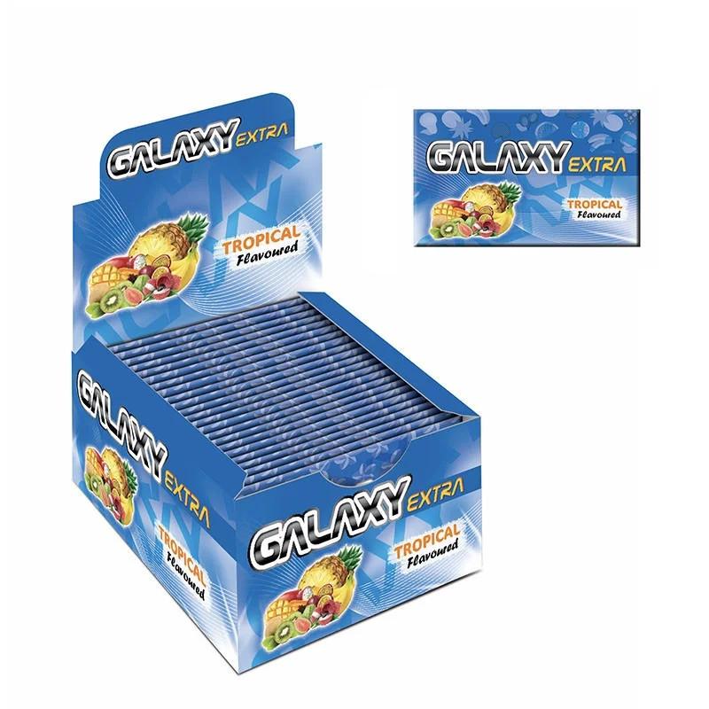 """Жувальна гумка в пластинах """"Galaxy Extra"""" тропік 20 шт"""