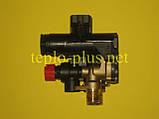Гідроблок (трьохходовий клапан) D003202242 Demrad Atron H24, H28, Adonis B24, Nitromix P24, P28, P35, фото 4