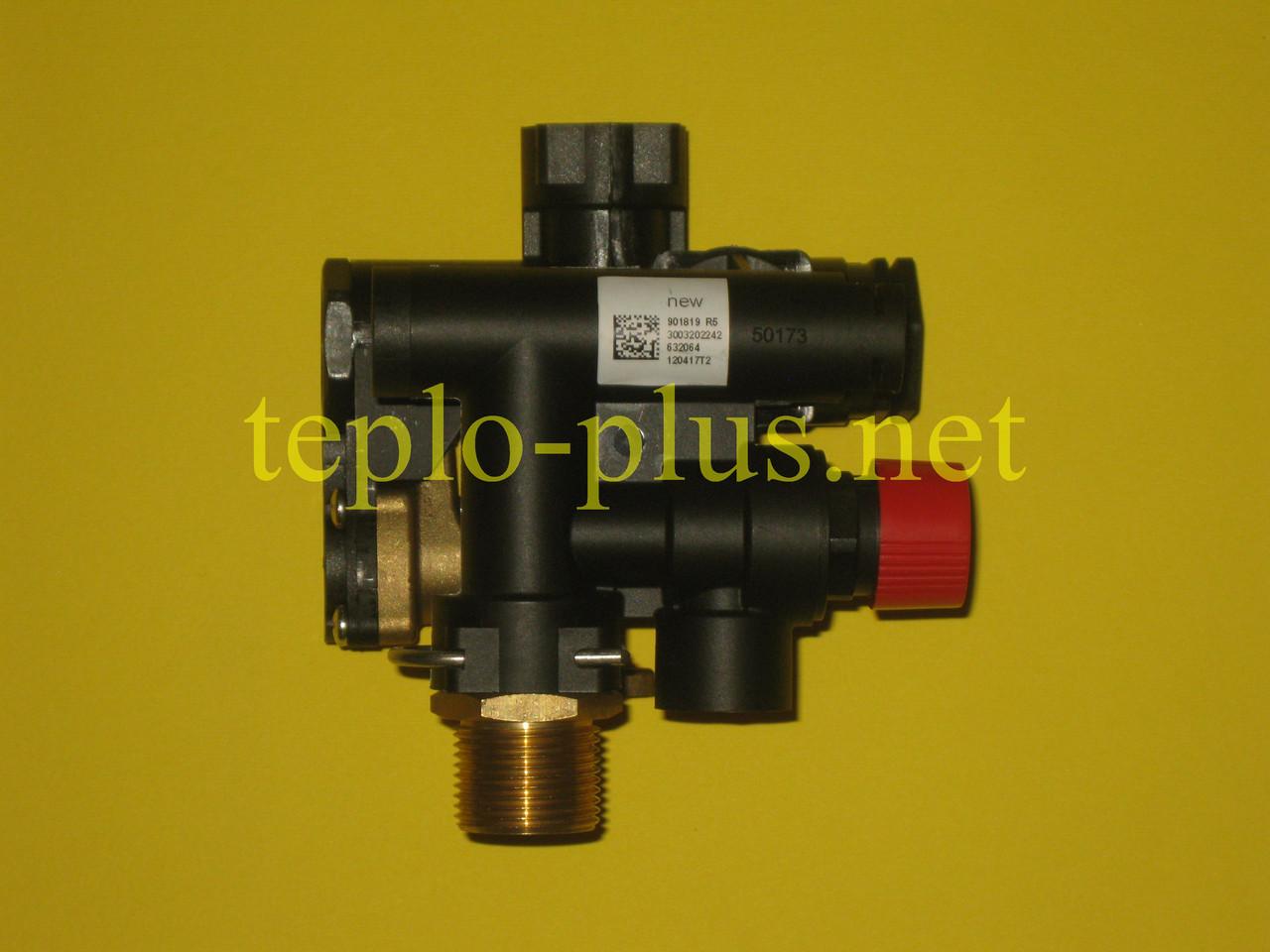 Гідроблок (трьохходовий клапан) D003202242 Demrad Atron H24, H28, Adonis B24, Nitromix P24, P28, P35, фото 3