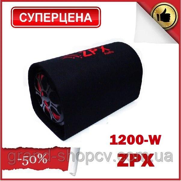 Активный сабвуфер бочка ZPX 1200W Колонка ZPX+ BLUETOOTH