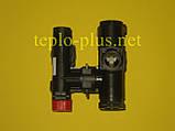 Гідроблок (трьохходовий клапан) D003202242 Demrad Atron H24, H28, Adonis B24, Nitromix P24, P28, P35, фото 5