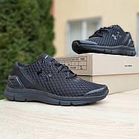 Мужские кроссовки Under Armour SpeedForm Gemini (Андер Армор СпидФорм Джемини), черные, код OD-10013