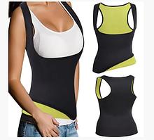 Топик для фитнеса sweat shaper, separater / топик для похудения (6729)